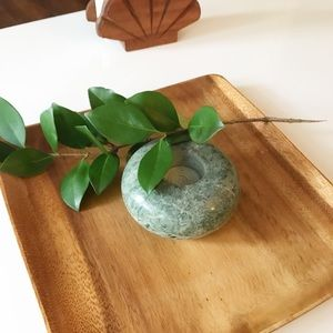 Other - Round Marble Candle Holder